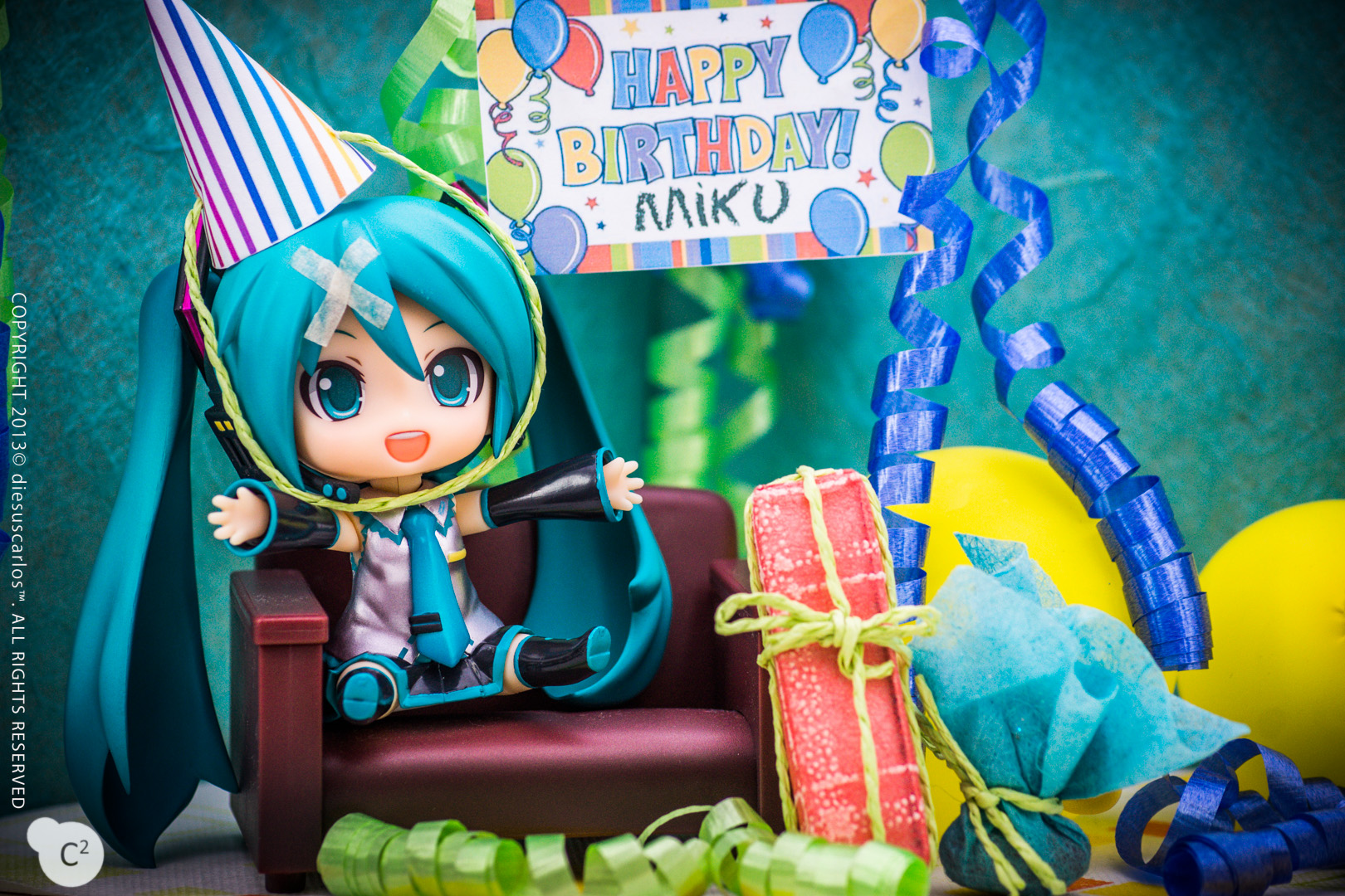 Hatsune Miku The 6th Birthday A Figures Story